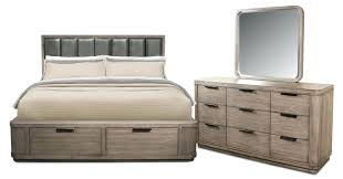 Queen Size Storage Bed Sets Sommerford Set Kira Bedroom 5 Piece Low ...