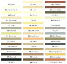 Daltile Grout Chart 10 Always Up To Date Polyblend Sanded Caulk Color Chart