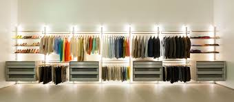 walk in closet lighting added simple wardrobe without doors also drawers storage