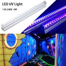 Led Color Tube Lights Details About Led Uv Bulbs Ultraviolet Strip Tube Light Bar 24 Leds Partys Lamp Black Light