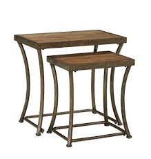 picture of nartina 2 piece nesting tables