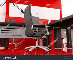 modern interior office stock. the modern interior of office 3d image stock