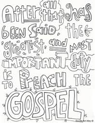 Small Picture Missionary Work Religious Doodles