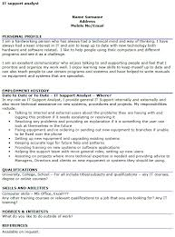 Technical Support Resume Examples Support Worker Resume Sample
