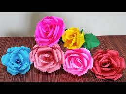 How To Make A Simple Paper Flower Bouquet Videos Matching How To Make Paper Flower Bouquet Tutorial