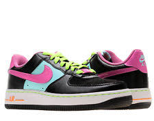 nike girls basketball shoes. nike air force 1 (gs) black/red violet big girls basketball shoes 314219
