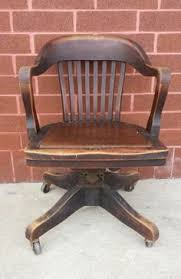 Want a chair like this for the office vintage bankers chair