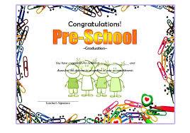 Preschool Graduation Certificate Editable Kindergarten Graduation Certificate Template Preschool Certificates