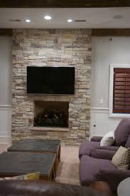 Decor U0026 Tips Interior Paint Color And Stacked Stone Veneer For Stacked Stone Veneer Fireplace