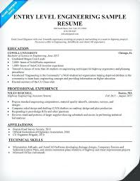 Entry Level Resume Objective Entry Level Resume Objective Newfangled See Sample Position Best 50