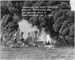 「1941, japanese attacked pearl harbor」の画像検索結果