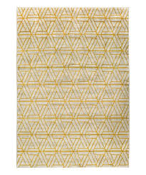 love this product gray yellow jax geometric rug