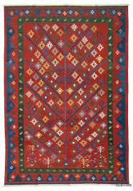 Image Wool Rug Kilimcom Red New Handwoven Turkish Kilim Rug 8 117