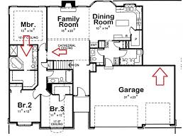 Small Four Bedroom House Plans Three Bedroom House Plans Images