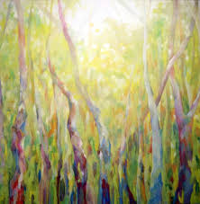 artist alison jardine releases her latest large scale painting from her natural abstractions series