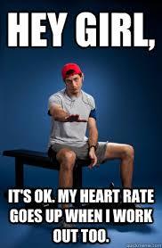 Memes Vault Funny Girl Workout Memes via Relatably.com