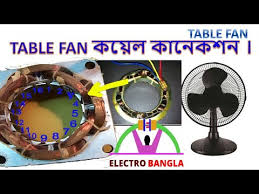 table fan coil winding full diagram details in