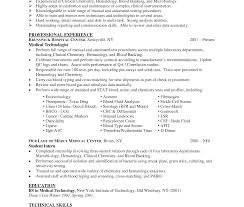 Lab Technician Resume Sample Unusual Medical Lab Technician Resume Sample Laboratory 56