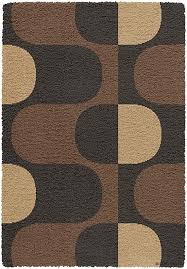 creative home area rugs creative design rug 5664 437 black brown contemporary rugs area rugs by style free at powererusa com