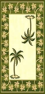 palm tree rugs border area best of outdoor rug bath mats