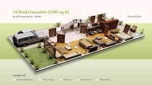 5 marla house design in 3d youtube