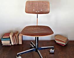 norwegian vintage office chair. vintage office chair wooden seat metal adjustable workshop industrial mid norwegian