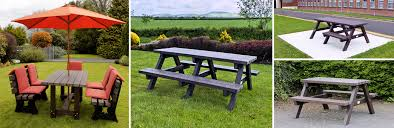 irish recycled s picnic tables