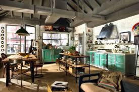 Rustic Industrial Kitchen Kitchen Style Enchanting Industrial Kitchen Ideas Vintage Chic