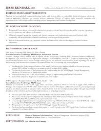 Sample It Resume It Director Resume Samples Resume It Manager It