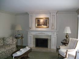 upgraded to raised up hearth extention with diana realle marble hearth surround custom wood mantel and