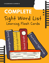 Amazon Com Complete Sight Word List Learning Flash Cards