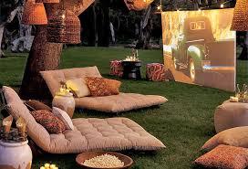 How To Throw A Backyard Movie Date NightMovie Backyard