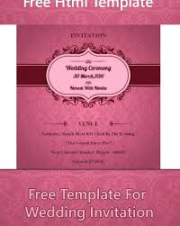 Wedding E Invite Template Wedding Invitation Letter Sample Pdf