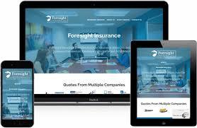 insurance web site designs