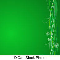 green christmas background clipart. Brilliant Background Christmas Background Clipartby Kwasny221926 Green Background  Composition Of Curved Lines And In Background Clipart R