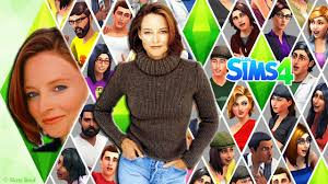 The Sims 4 Jodie Foster - Alicia Christian Foster - YouTube