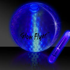 glow flyer blue glow flyer golf ball