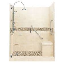 roma freedom luxe hinged 30 in x 60 in x 80 in left