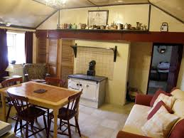 Living Room And Kitchen Irish Cottage Interior Living Room Kitchen Google Search New