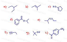 Drawing Skeletal Structures Of Organic Compounds Practice Quiz