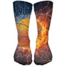 Lighting Socks On Fire Basketball Fire Lighting Water Sport Novelty High Athletic