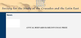 bernard hamilton essay prize armacad