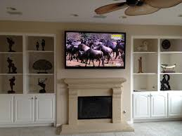 Framed Tv Above Fireplace Living Room What Is A Console Tv Marble Fireplace Mantel Shelf