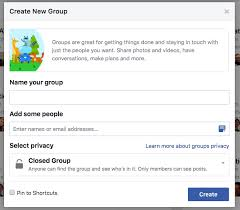create a facebook group easy instructions