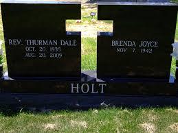 Rev Thurman Holt (1935-2009) - Find A Grave Memorial