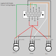logitech g25 pedal wiring diagram photo by garyhope photobucket logitech g25 pedal wiring diagram