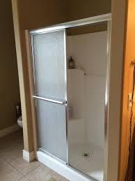 imagination replace shower stall replacing fiberglass the home depot community
