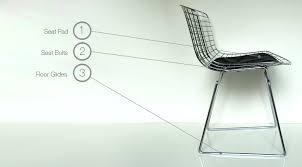 knoll eames chair. BertoiaKnollParts_List_WireChair.jpg Knoll Eames Chair A