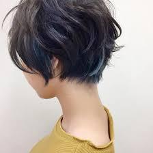 ショートヘアのインナーカラー電髪倶楽部street所属後藤菜々のヘア