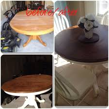 kitchen table best 25 painted round tables ideas on oak intended for table